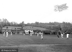Shamley Green, The Cricket Field c.1955
