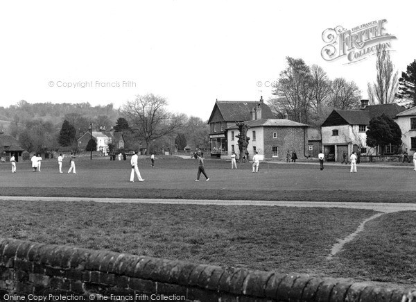 Shamley Green, the Cricket Field c1955