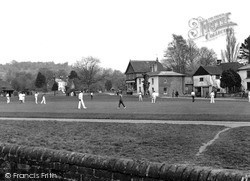 Shamley Green, The Cricket Field c.1955