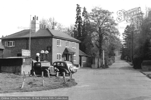 Shamley Green, the Garage c1955