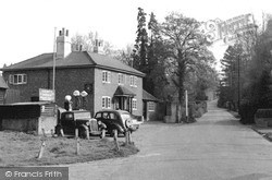 Shamley Green, The Garage And Bricklayers Arms c.1955