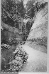 Shanklin, Chine Road 1892