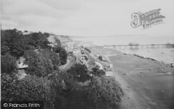 Shanklin, From Above The Chine 1913
