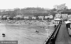 Shanklin, From The Pier 1913