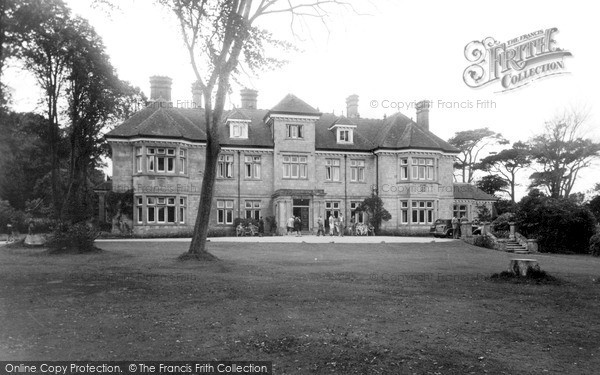 Photo of Shanklin, Manor House c.1950