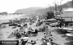 The Beach And The Pier c.1950, Shanklin