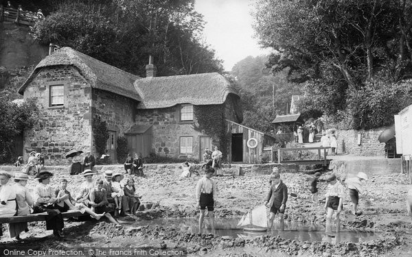 Shanklin, The Entrance To The Chine 1913