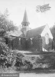 Shanklin, The Old Church 1892