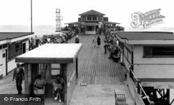The Pier c.1955, Shanklin