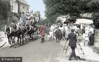 Shanklin, the Stagecoaches 1913