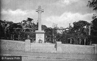 Shanklin, the War Memorial 1923