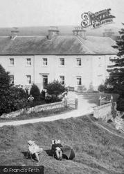 Shap Wells Hotel, Men Resting 1893, Shap