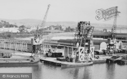 Sharpness, The Docks c.1955