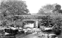Shaugh Prior, Shaugh Bridge c.1873