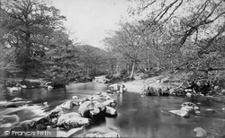 Shaugh Prior, Stepping Stones c.1873