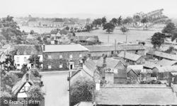 View From Church Tower c.1955, Shawbury