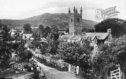 Church And Village 1906, Sheepstor
