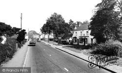 The Post Office And High Street c.1960, Sheering