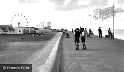 Sheerness, Esplanade And Beach c.1955