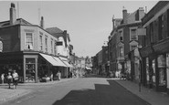 Sheerness, High Street c1955