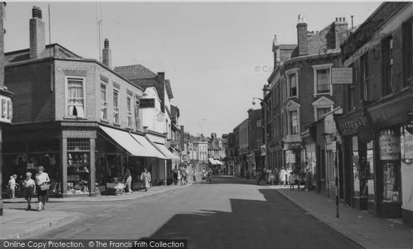 Photo of Sheerness, High Street c1955