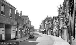 Sheerness, High Street c.1955