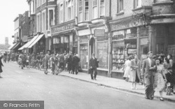 Sheerness, Shops, High Street c.1950