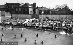 Sheerness, The Bathing Pool c.1955