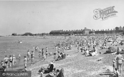 Sheerness, The Beach By Cheyney Rock c.1955