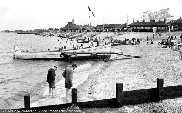 Photo of Sheerness, the Beach c1950