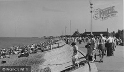 Sheerness, The Beach c.1955