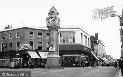 Sheerness, The Clock Tower c.1960