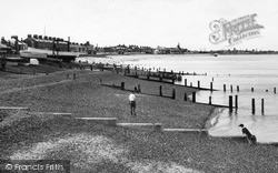 Sheerness, The Esplanade c.1955