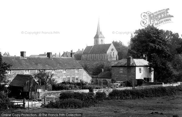 Sheet, Village and Church 1898