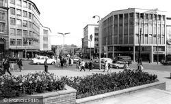 Sheffield, Angel Street c.1965