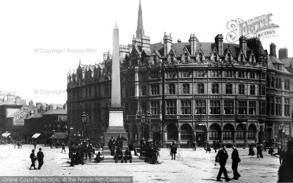 Photo of Sheffield, Fargate And Surrey Street 1893