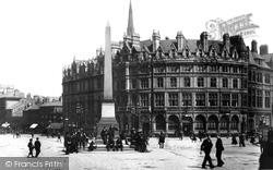 Sheffield, Fargate And Surrey Street 1893