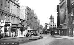 Sheffield, Fargate c.1955