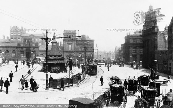 Sheffield, Fitzalan Square 1902