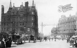 Sheffield, High Street 1900
