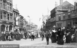 Sheffield, High Street c.1880