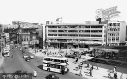 Sheffield, High Street c.1960