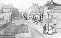 Sheffield, Hillsborough Bridge c.1897