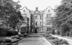 Sheffield, Nether Edge Hospital c.1955
