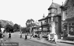 Sheffield, Nether Edge Road And The Post Office c.1955
