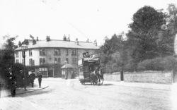 Sheffield, Nether Edge, Tram Terminus c.1890
