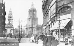 Sheffield, Pinstone Street c.1900