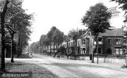Sheffield, Psalter Lane c.1955