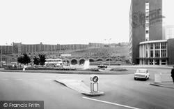 Sheffield, Sheffield Midland Station And Park Hill c.1965