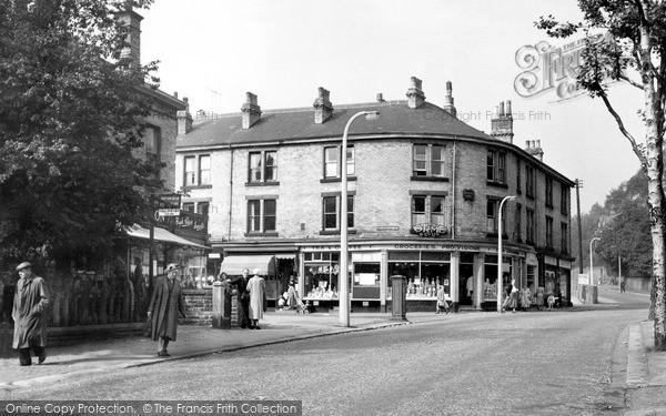 Sheffield, Sheldon Road, Nether Edge c.1955 - Francis Frith
